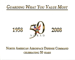NORAD Celebrating 50 Years book