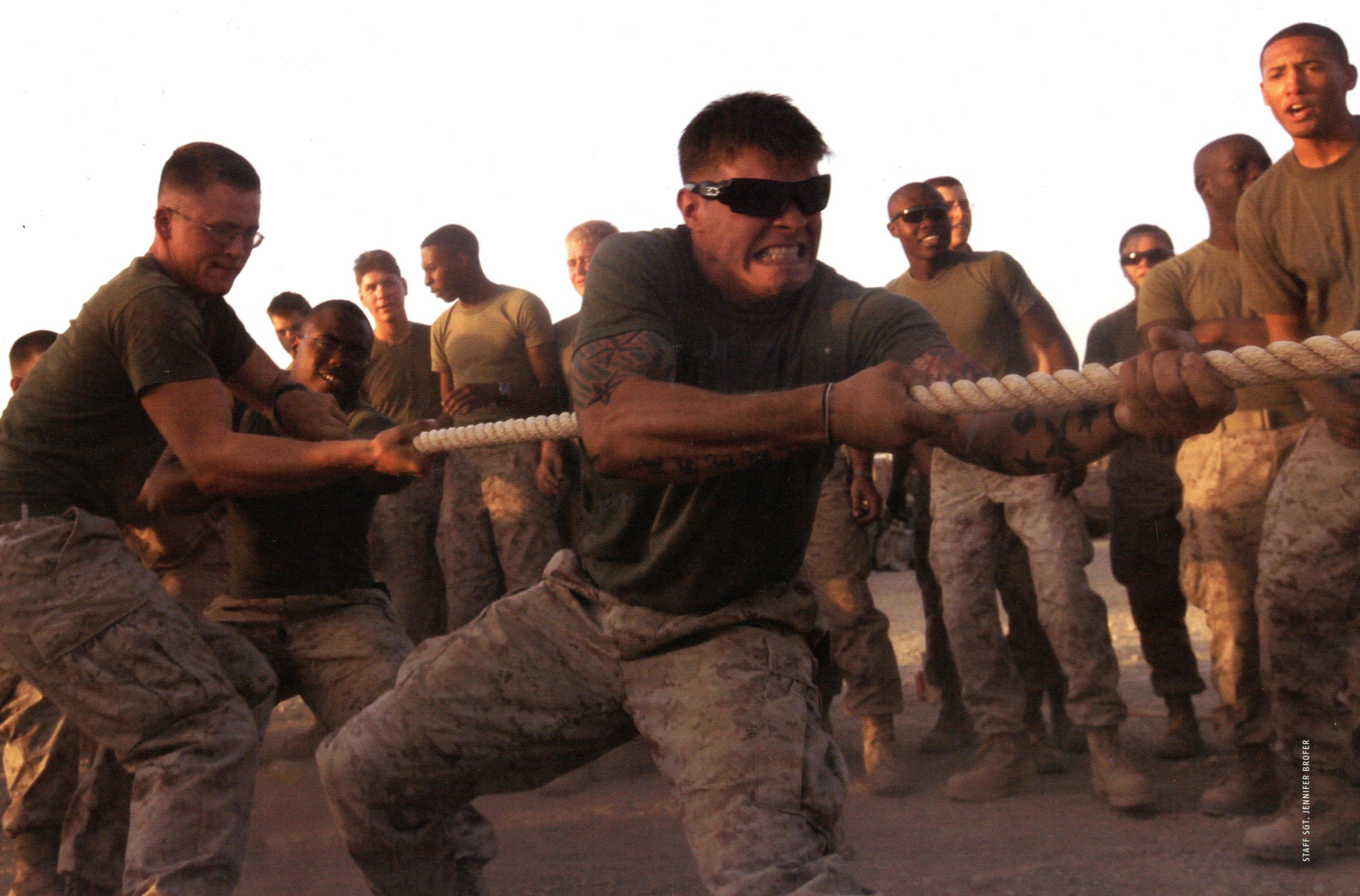 Amateur straight marines