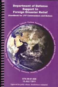Department of Defense Support to Foreign Disaster Relief Handbook