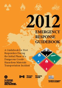 Emergency Response Guidebook 2012 available at http://bookstore.gpo.gov