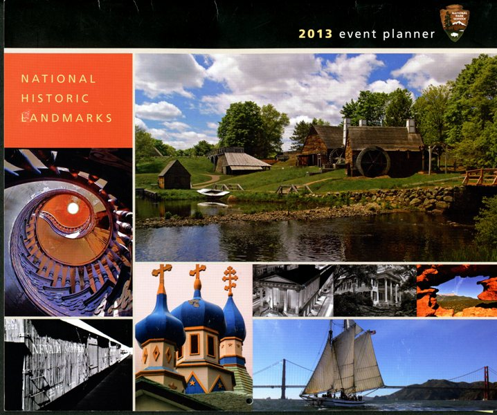 Cover of the 2013 National Historic Landmarks Photo Contest Calendar