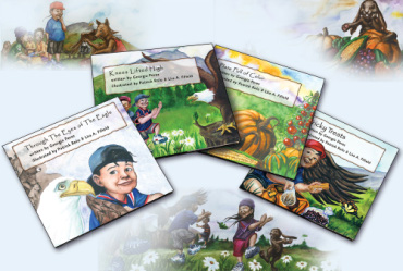 CDC-Eagle-Book-Series for children using American Indian stories to teach healthy eating and preventing diabetes