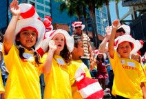 Kids Take NEA Reader's Oath on National Read Across America Day