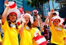 Kids Take NEA Reader's Oath on National Read Across America Day