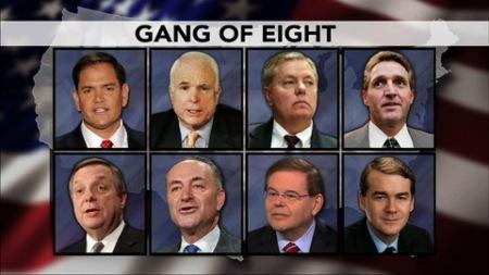 2013 Border Security and immigration reform bill Gang of Eight Senators