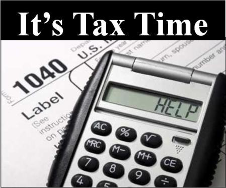It's Tax Time April 15 Federal IRS Tax Return Forms