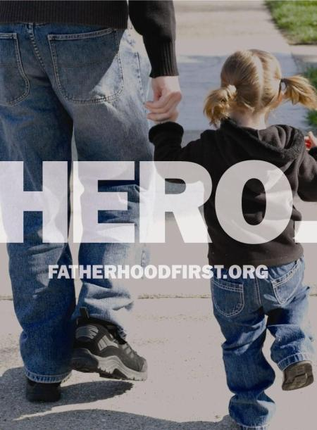 Hero poster for FatherhoodFirst.org