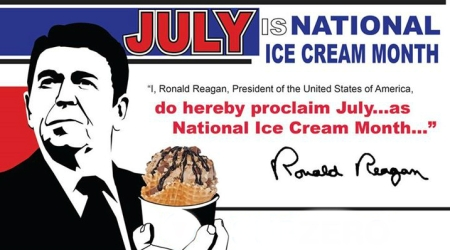 Reagan-ice-cream-proclamation
