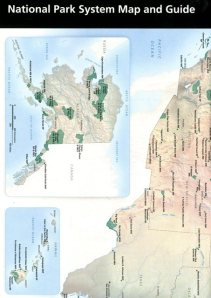 National Park System Map and Guide  ISBN: 9780912627878 available from http://bookstore.gpo.gov