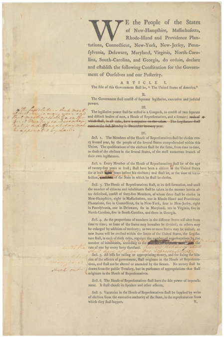 George-Washingtons-Annotated-Copy-of-a-Draft-of-the-U.S.-Constitution