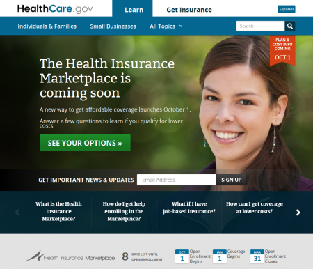 Find information about these marketplaces for Individuals and Families or Small Businesses on the U.S. Centers for Medicare & Medicaid Services Healthcare Marketplace website, https://www.healthcare.gov/.