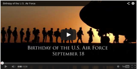 USAF-Birthday-Video