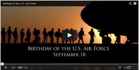 USAF-Birthday-Video