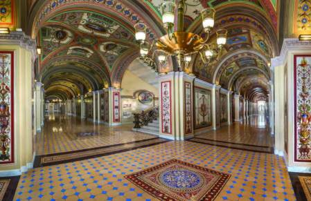 US Capitol The Brumidi Corridors, from To Make Beautiful the Capitol: Rediscovering the Art of Constantino Brumidi ISBN: 9780160921001