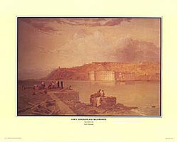 Seth Eastman US Army Forts paintings Print Set