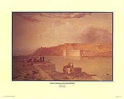 Seth Eastman US Army Forts paintings Print Set