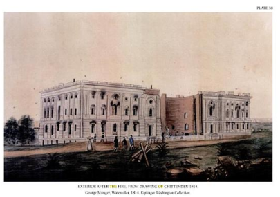 Glenn-Brown_US-Capitol-after-British-burning-in-War-of-1812