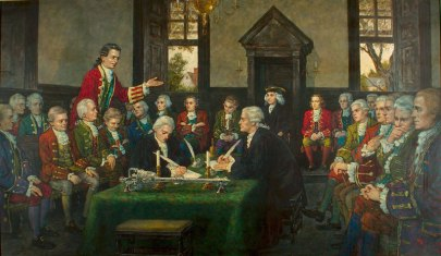 Painting-Adoption-of-VA-Declaration-of-Rights