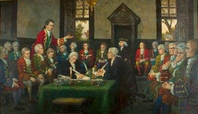 Painting-Adoption-of-VA-Declaration-of-Rights