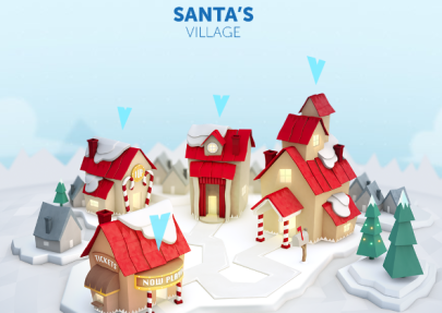 Santa-Village-Games-on-NORAD-Santa-Tracker-website