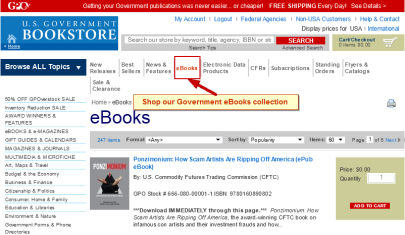 US-Government-bookstore-DRM-Free-eBooks at http://bookstore.gpo.gov/ebooks