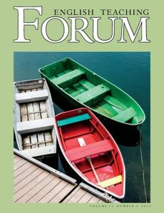English Teaching Forum, the quarterly journal for professionals teaching ESL or EFL English as a Foreign or Second Language, published by the U.S. State Department's Office of English Language Programs