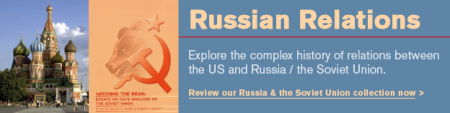 Russia-Soviet-Books-available from the GPO-US Government Bookstore