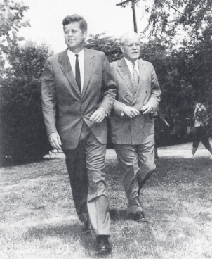 Senator-Kennedy-DCI-Dulles