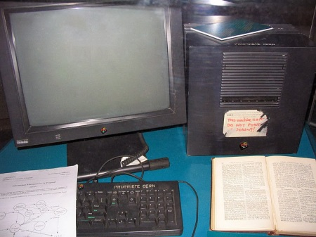 Sir Tim Berners-Lee First World Wide Web Server 1990