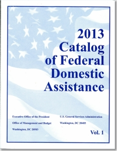 Catalog-of-Federal-Domestic-Assistance_2013_cover image