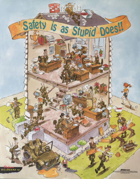 Safety-is-as-stupid-does_DOD-poster