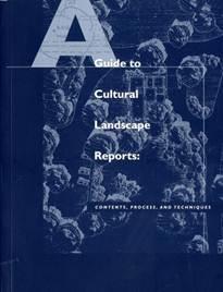 cultural landscape report