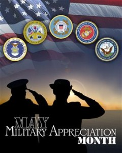 may military appreciation month
