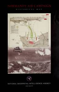 Normandy Air Campaign Historical Map