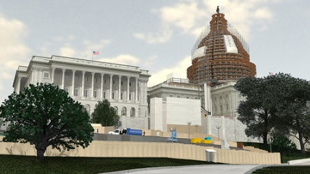 Proposed scaffolding for Capitol dome restoration Architect of the Capitol