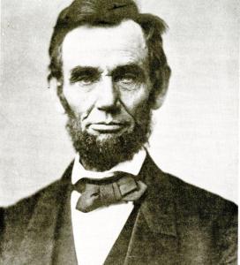 The Alexander Gardner portrait of Lincoln, taken 4 days before the Gettysburg Address.