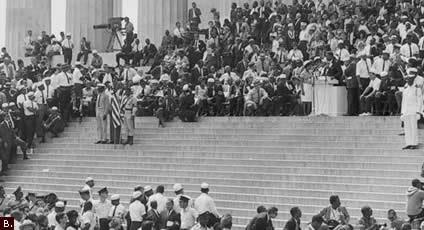 """March on Washington, August 28, 1963."" 1963. Image courtesy of loc.gov"