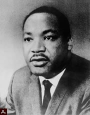 """Dr. Martin Luther King, Jr., 1929-1968--In Memoriam,"" image courtesy of loc.gov"